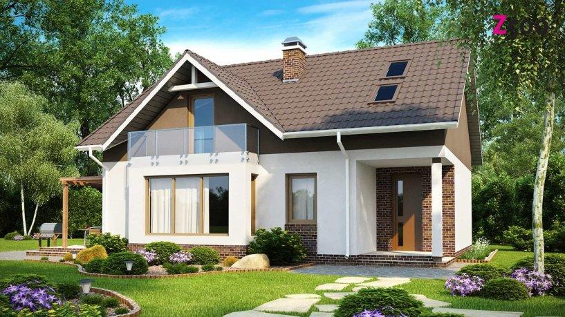 Z128 Двухэтажный дом